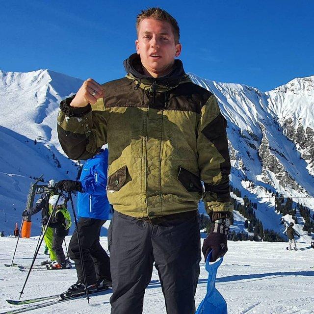 Алексей Щербаков в горах