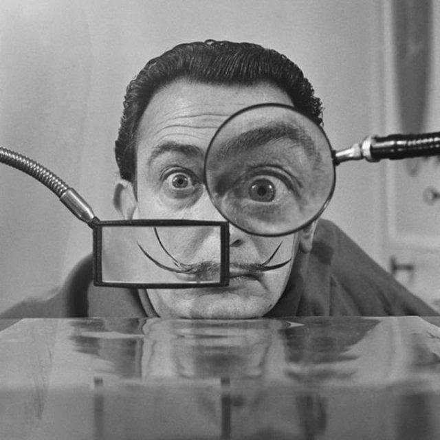 Сальвадор Дали, 1950 год, Франция