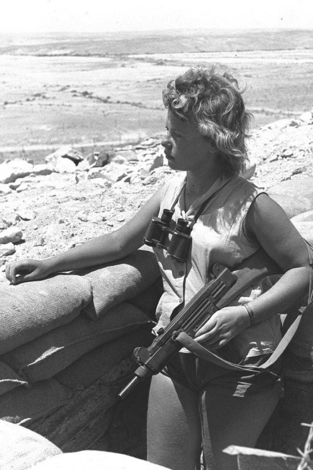 """""""На посту"""", 1965 год, пустыня Негев"""