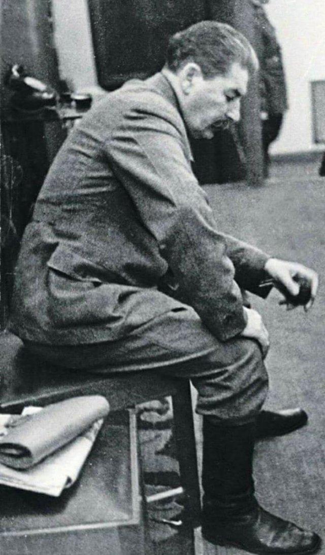 И.В.Сталин, август 1941 год, СССР