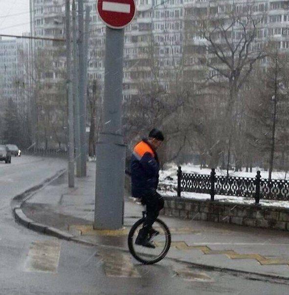 Верхом на моноцикле