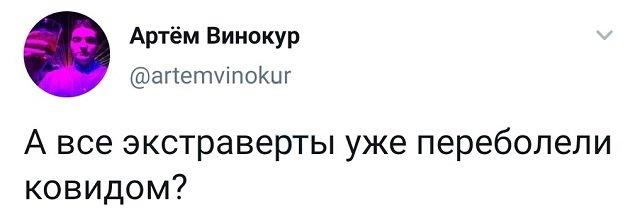 твит про экстравертов