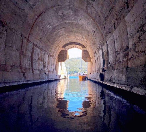 Заброшенные военные туннели