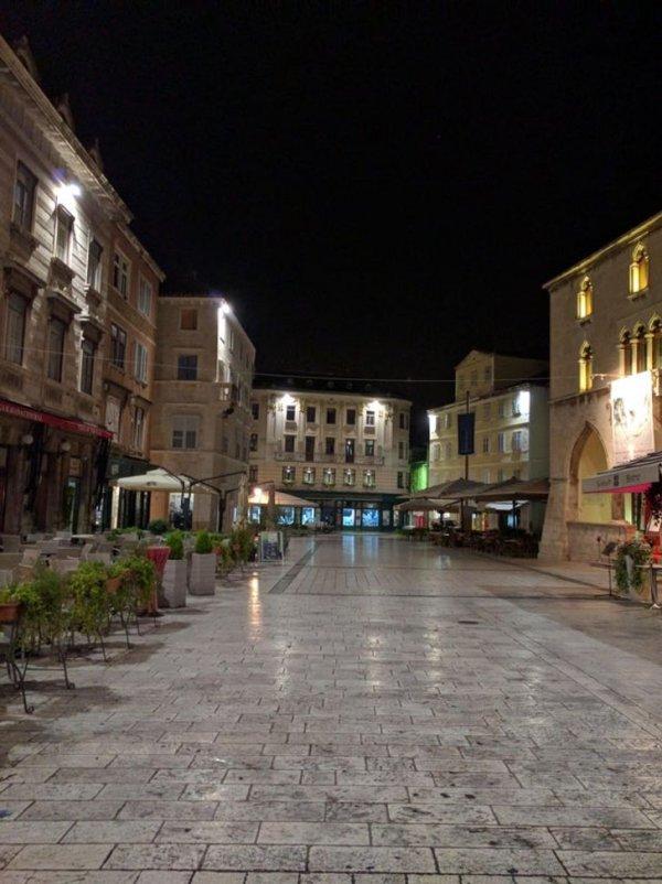 Город Сплит и невероятная чистота