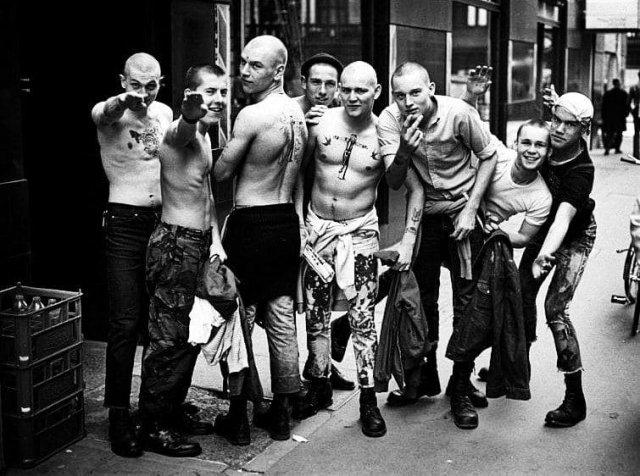 Скинхеды в Лондоне, 1980 год