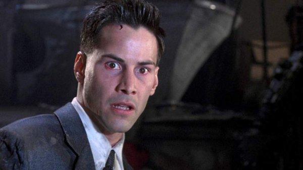 Киану Ривзу был 31 год, когда он снялся в фильме «Джонни-мнемоник»