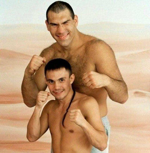 Николай Валуев и Костя Цзю в 1990-е