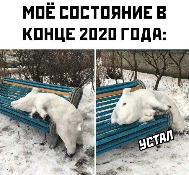 Мое состояние в конце 2020 года