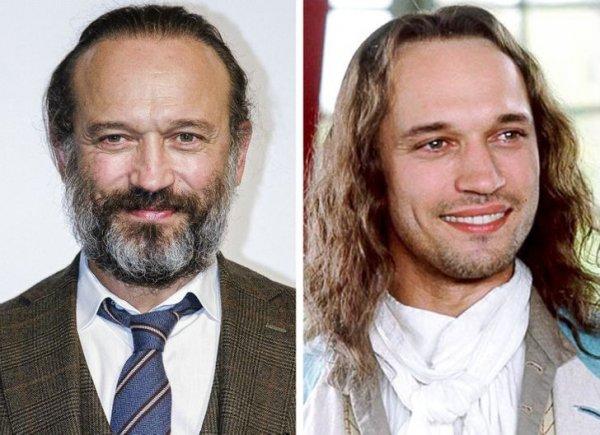 Венсан Перес — 56 и 36 лет