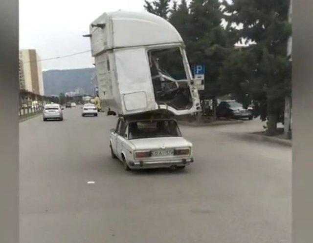 Когда решил заменить оригинальный кузов на старой машине