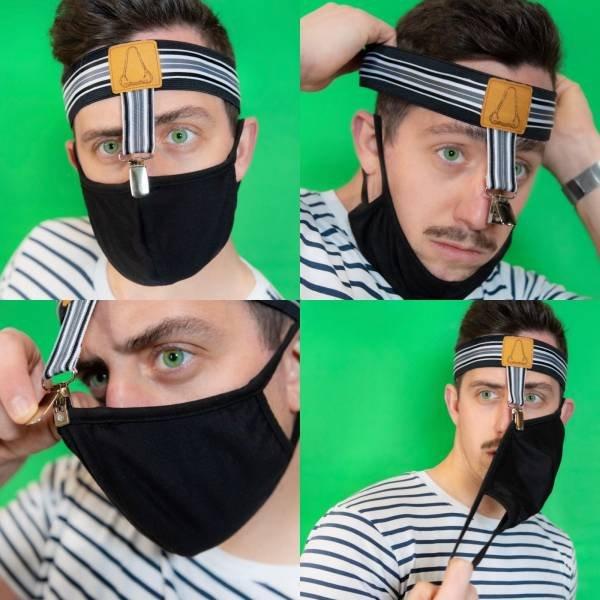 Держатель для маски