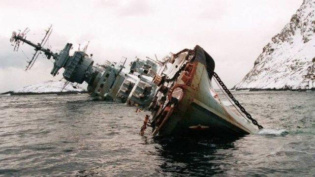 Затопленный корабль