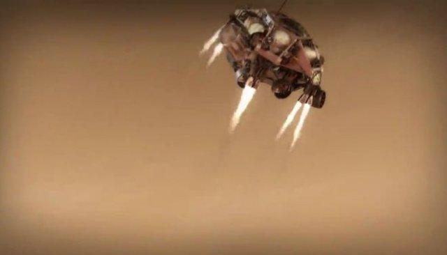 В NASA показали, как зонд Perseverance будет приземляться на поверхность Марса