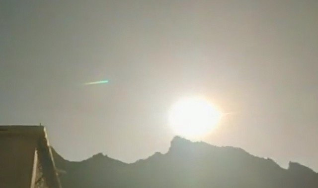 В Китае на месте ядерных испытаний упал метеорит