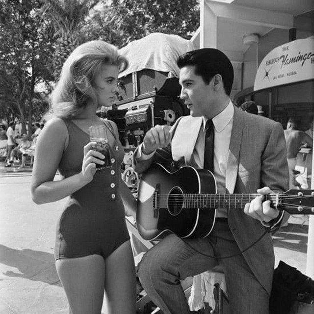 Энн-Маргрет и Элвис Пресли, Лас-Вегас, 1964 год.