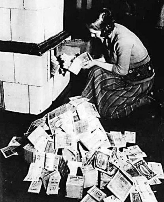 Когда стали дешевле дров и угля, 1923 год, Германия
