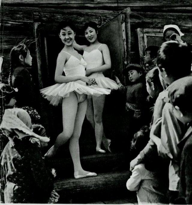 Балерины из бурятского улуса, 1973 год, СССР