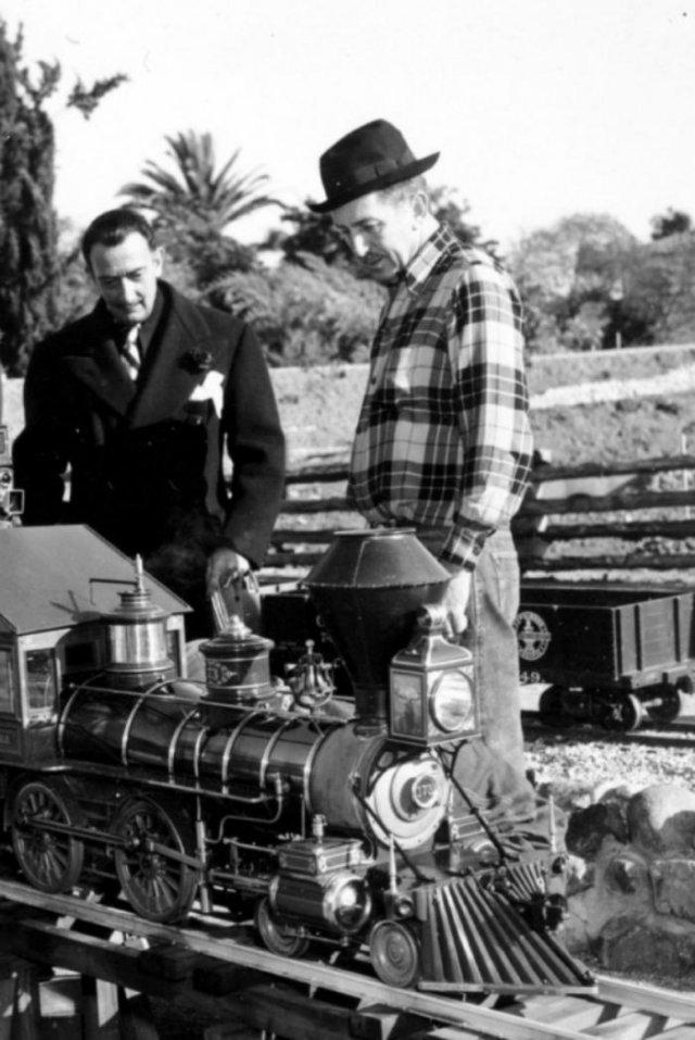 Сальвадор Дали и Уолт Дисней, 1950–е годы, США