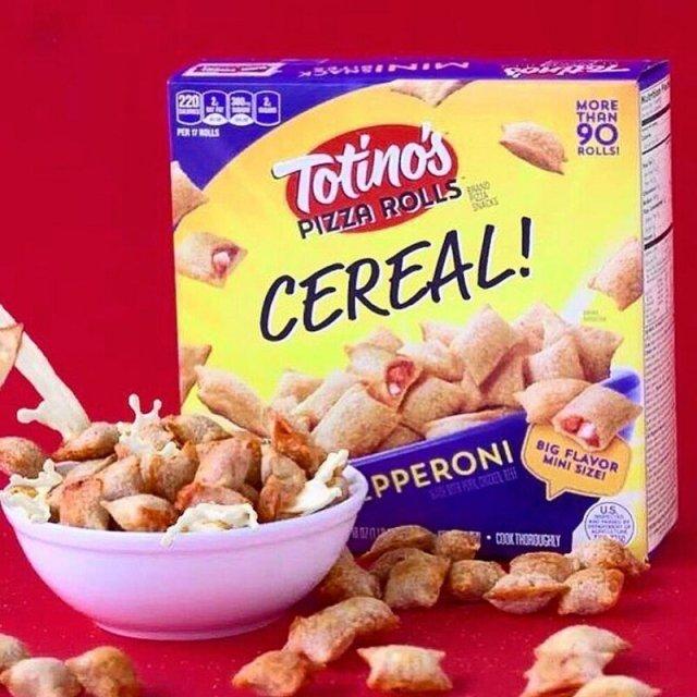Готовый сухой завтрак