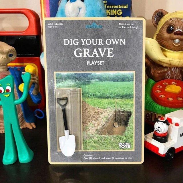 Игровой набор Вырой собственную могилу