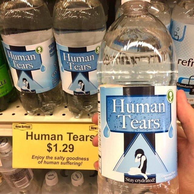 Вода Человеческие слезы