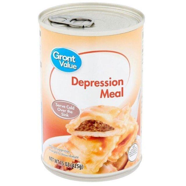 Еда для депрессии