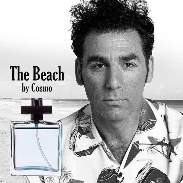 Духи с запахом пляжа