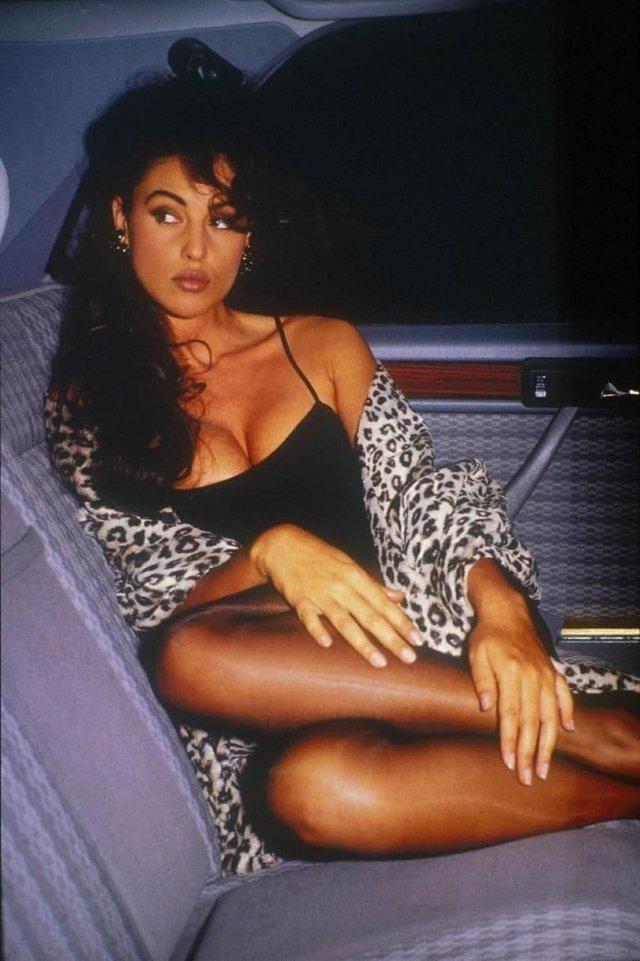 Моника Беллуччи, 1991 год.