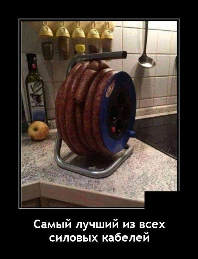 Демотиватор про колбасу
