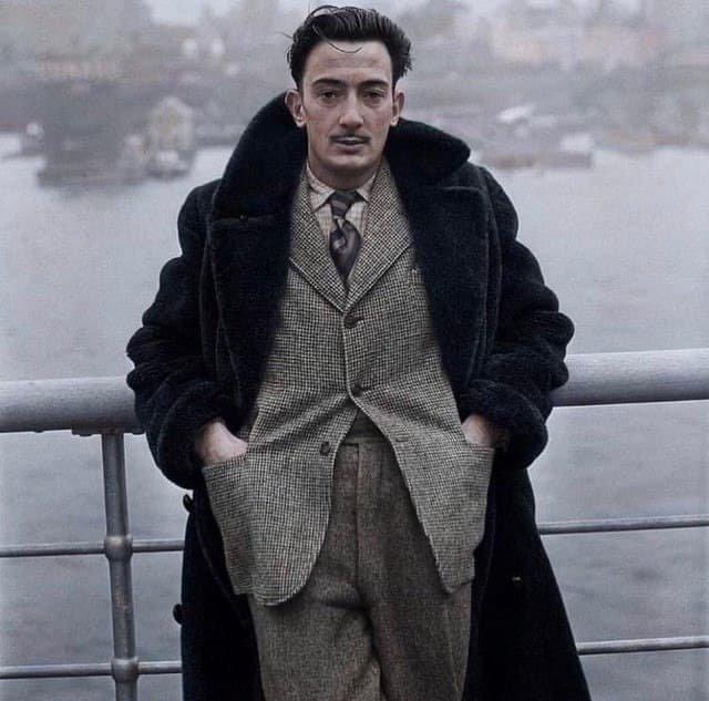 Сальвадор Дали в Нью-Йорке. 1936 год