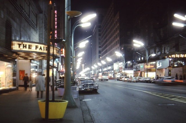 Ночной Чикаго, 1960-е.
