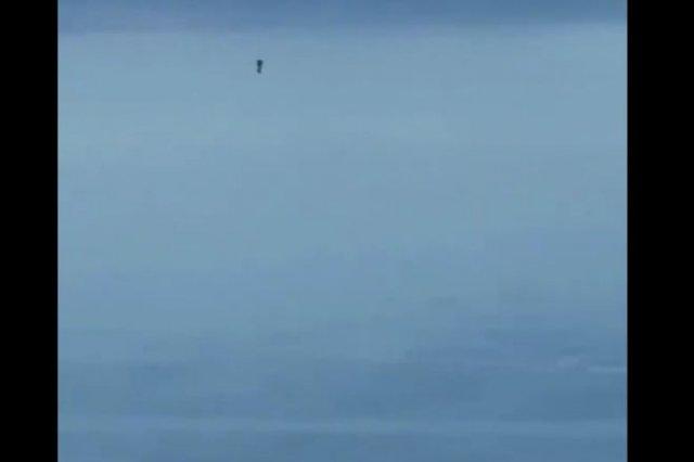 В США пилот снял человека на джетпаке