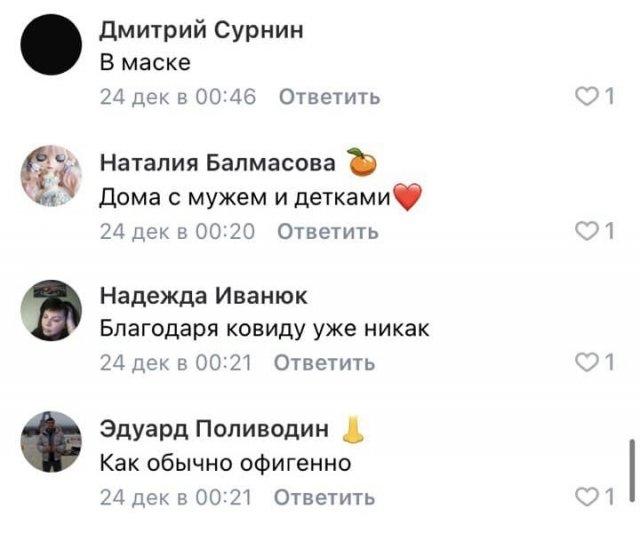 Пользователи Сети рассказали, как будут отмечать Новый год