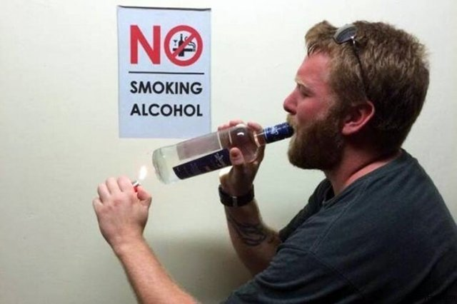 Не курить алкоголь