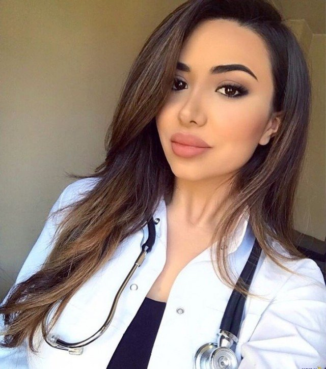Девушки, которые могли бы стать моделями, но пошли в медицину
