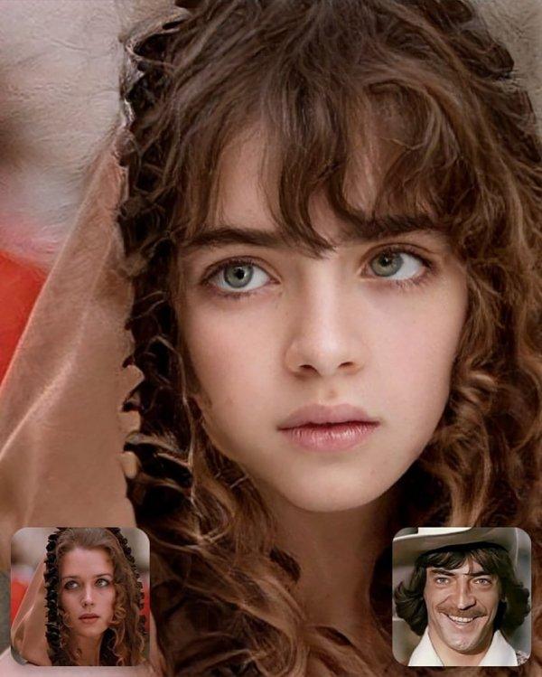 Дочь Д'Артаньяна и Констанции Бонасьё из фильма «Д'Артаньян и три мушкетёра» (1978)
