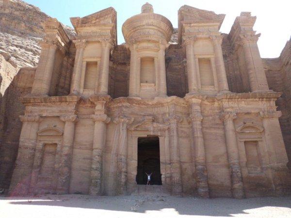 Размеры Петры в Иордании