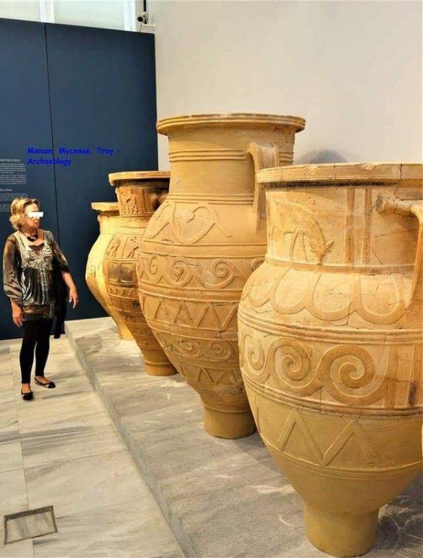 Сосуды для хранения, использовавшиеся в 7-6 веке до нашей эры