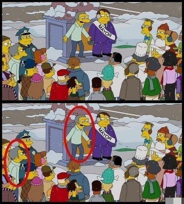 Симпсоны и два героя по имени Мо