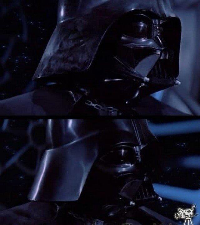 """Шлем весь в пыли, затем он чист: """"Звездные войны. Эпизод VI""""."""