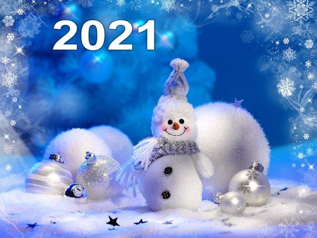 Поздравления с новым годом 2021