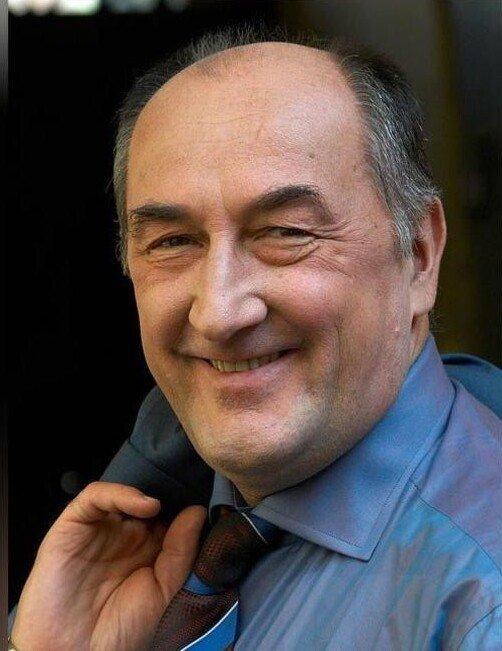 Народный артист России Борис Клюев, 76 лет