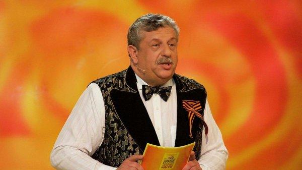 """ведущий телешоу """"Русское лото"""" Михаил Борисов, 71 год"""