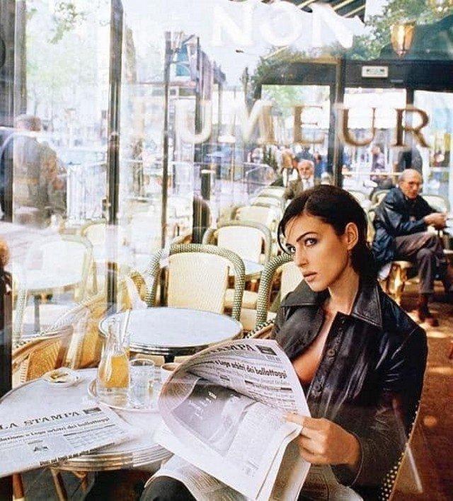 Моника Беллуччи, 1997 год.