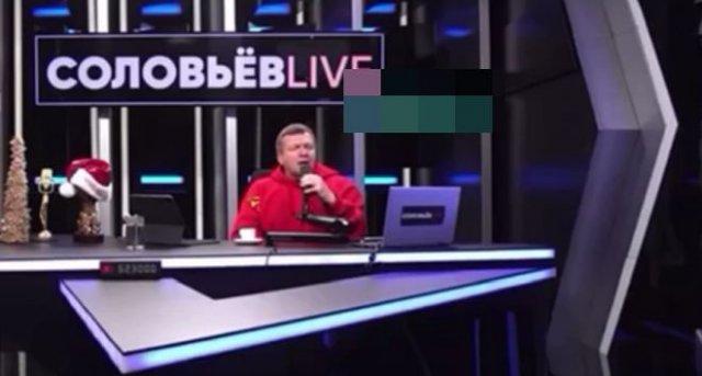 """""""Ой мороз, мороз!"""": Владимир Соловьев спел несколько песен в эфире своей передачи"""
