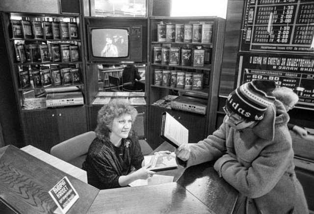 Видеопрокат, 1980–е годы, Москва