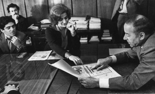 16–летний Гарри Каспаров с мамой Кларой Шагеновной на приёме у Гейдара Алиева, 1979 год, СССР