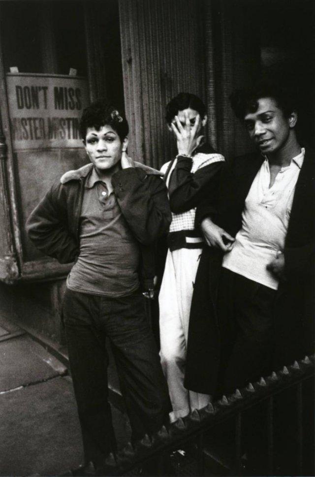 Уличные мужчины–проститутки, 1955 год, Нью–Йорк