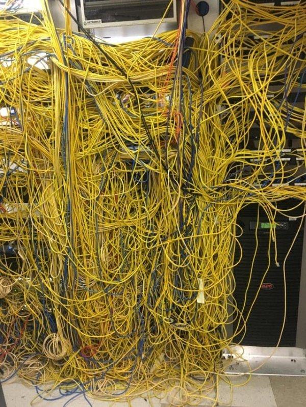 Серверная в больнице