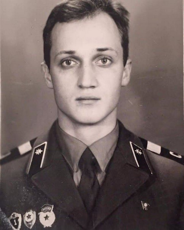 Гоша Куценко в молодости, 1987